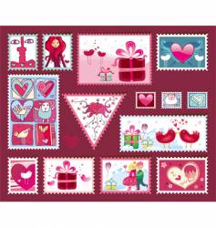 Valentine's design elements vector
