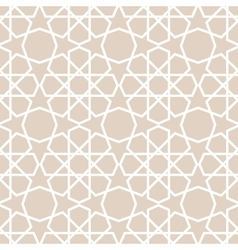 Arabic pattern seamless background vector