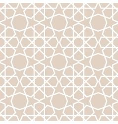 Arabic pattern seamless background vector