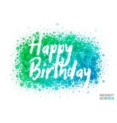 Happy birthday beautiful design element for vector