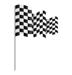 Finish flag goal race vector