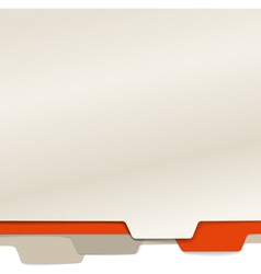 Background of color paper folders vector