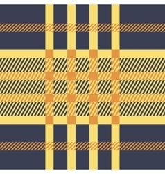 Plaid seamless tartan pattern Twill texture vector image vector image