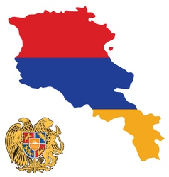 Armenia flag vector
