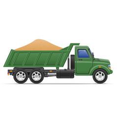 Cargo truck concept 08 vector