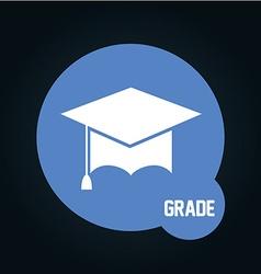 Grade icon vector
