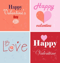 stok vektor with love vector image vector image