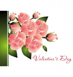 valentines day illustration vector image vector image