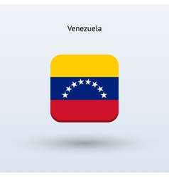 Venezuela flag icon vector
