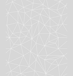 Seamless polygonal pattern background vector