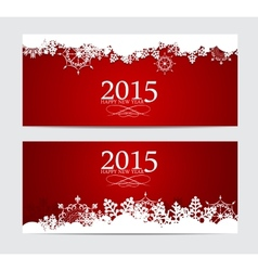 Abstract beauty 2015 new year background vector