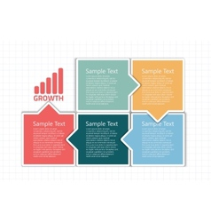 business design template vector image