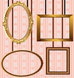 portrait frames vector image