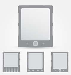 E-book reader icon vector