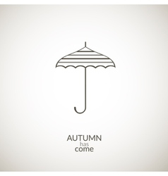 Umbrella icon vector