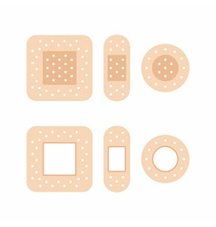 Adhesive bandages vector
