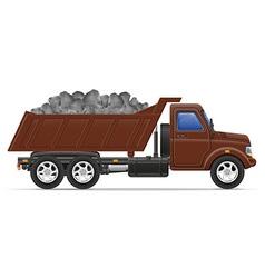 Cargo truck concept 09 vector