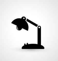 Vintage lamp icon vector image vector image