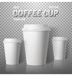 Coffee Cup Photorealistic EPS10 vector image