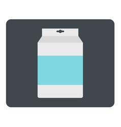 Box of milk icon isolated vector
