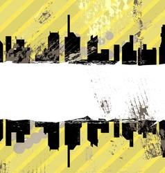 urban grunge design vector image