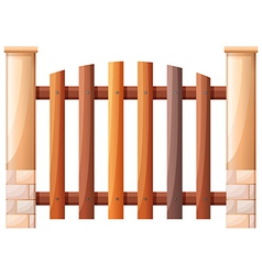 A vertical fence vector