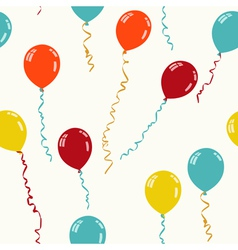 balloon seamless light vector image