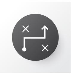 Algorithm icon symbol premium quality isolated vector