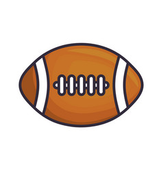 Americas football ball vector