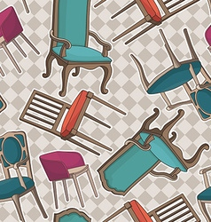 armchairs vector image