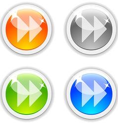 Forward buttons vector