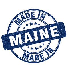 Made in maine vector