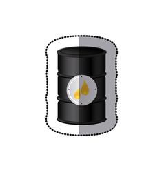 Oil tank icon stock vector