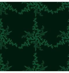 Retro stylish winter background hand-drawn vector