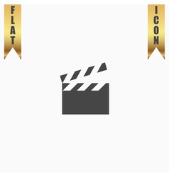 movie film icon vector image