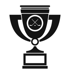 Cup icon simple style vector image vector image