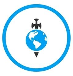 Earth Guard Icon vector image
