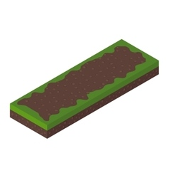 Isometric ground vector