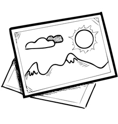 Sketch pictures vector