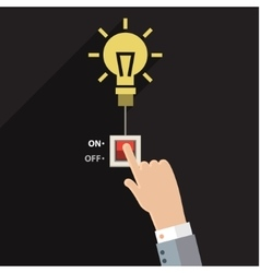 Turn on idea vector