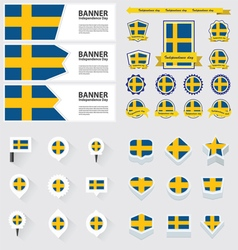 Set sweden vector