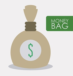 money bag design vector image