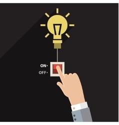 Turn on idea vector