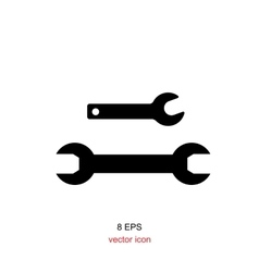 Wrench Simple Icon vector image