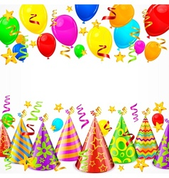 Party decorations vector