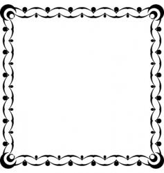 design frame vector image vector image