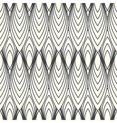 monochrome abstract pattern vector image vector image