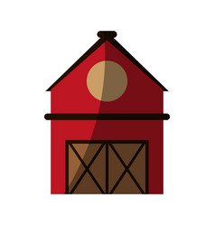 rural barn icon image vector image