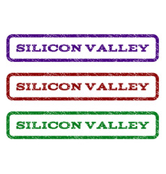Silicon valley watermark stamp vector