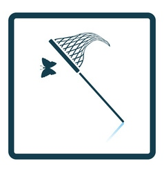 Butterfly net icon vector